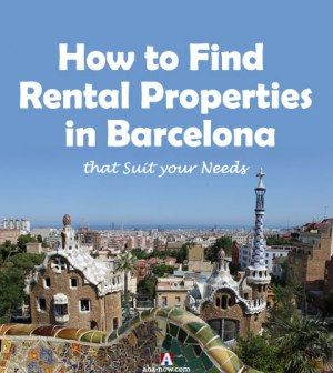 Photo of Barcelona City with caption how to find rental property in Barcelona