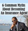 A man thinking about the myths of becoming an insurance agent