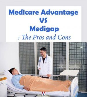 Doctor in hospital attending a patient under a Medicare plan