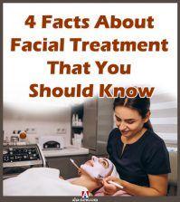 Beautician doing facial treatment of woman