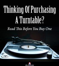 A turntable to purchase