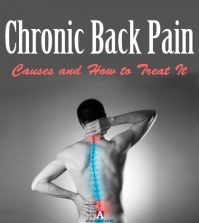 Man suffering from chronic back pain