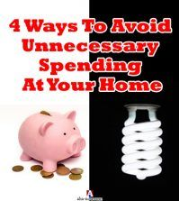 Home energy saving shown through a piggy bank and CFL bulb