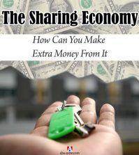 keys on palm to rent out room and earn money in the sharing economy