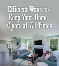 A clean home