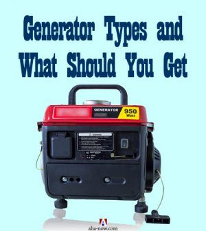 Portable power generator as one type of generator