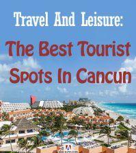A tourist spot near the beach in Cancun