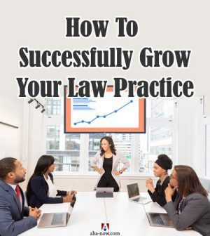 Law firm office people happy with growth of law firm