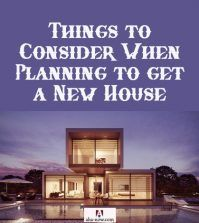 A new modern house to consider to buy