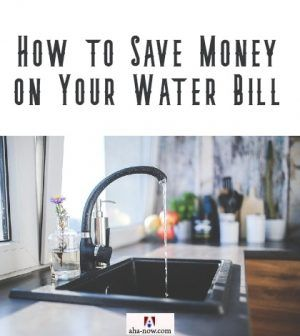 A running tap in kitchen leading to water wastage and increased water bill