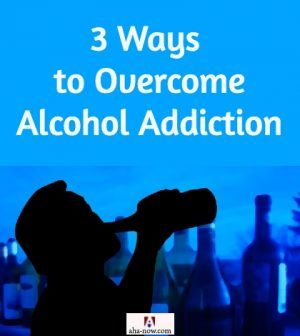 Man drinking booze and struggling with alcohol addiction