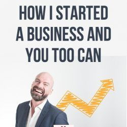 Man happy about starting a business