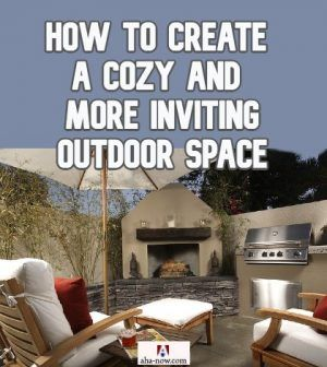 A cozy outdoor space at a home