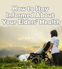 caregiver taking care of elders' health