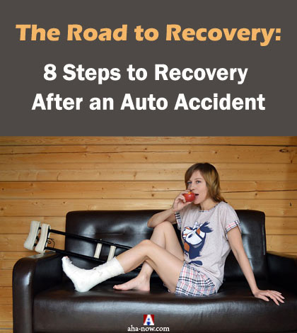 8 Steps to Recovery After an Auto Accident