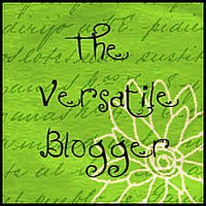 Badge with text Versatile Blogger Award