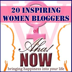 Inspiring Women Bloggers of Aha!NOW
