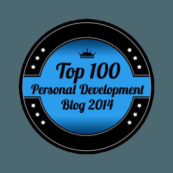 personal development blog award