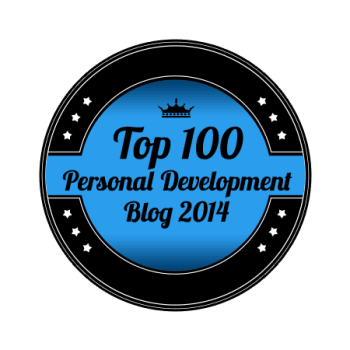 personal development blog award